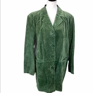 New Dennis Basso QVC Jacket Washable Leather Suede